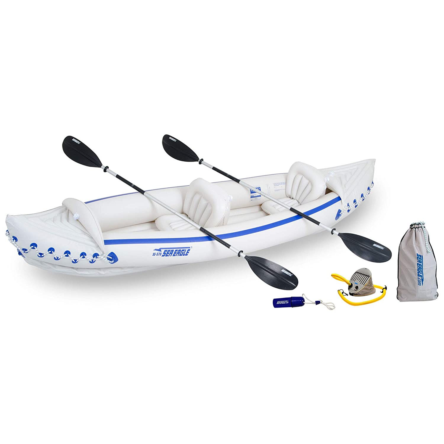 Sea Eagle 370 Deluxe | Best Inflatable Sports Kayak