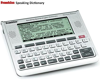 Amazon com : Franklin Spanish - English Speaking / Talking Merriam