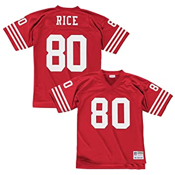 new products af5e0 369ad Mitchell & Ness Jerry Rice San Francisco 49ers Replica ...