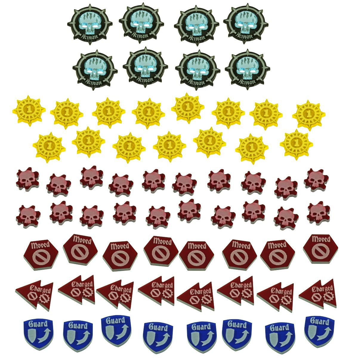 WHU: Spire, Game Token Upgrade Set (67)
