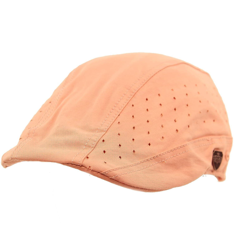 Amazon.com  SK Hat shop Summer Vented Cotton duckbill Flat IVY Driver Cabbie  Sun Biker Cap Hat  Clothing 390715871cad