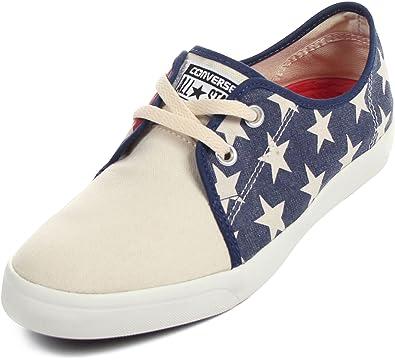 ccac427b0356cc Converse Unisex Riff Canvas Blue White Sneaker - 9 Men - 11 Women