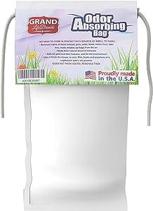 GrandLifeBrands Premium Odor Eliminator Naturally REMOVES, NOT Covers UP Smells of Dead Rodents, Mildew, Stale Food, Pets, cat Litter, Garbage, Skunks, Urine/Feces, Smoke (1 Bag)