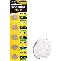 Toshiba CR1632 3V Lithium Coin Battery 5pcs