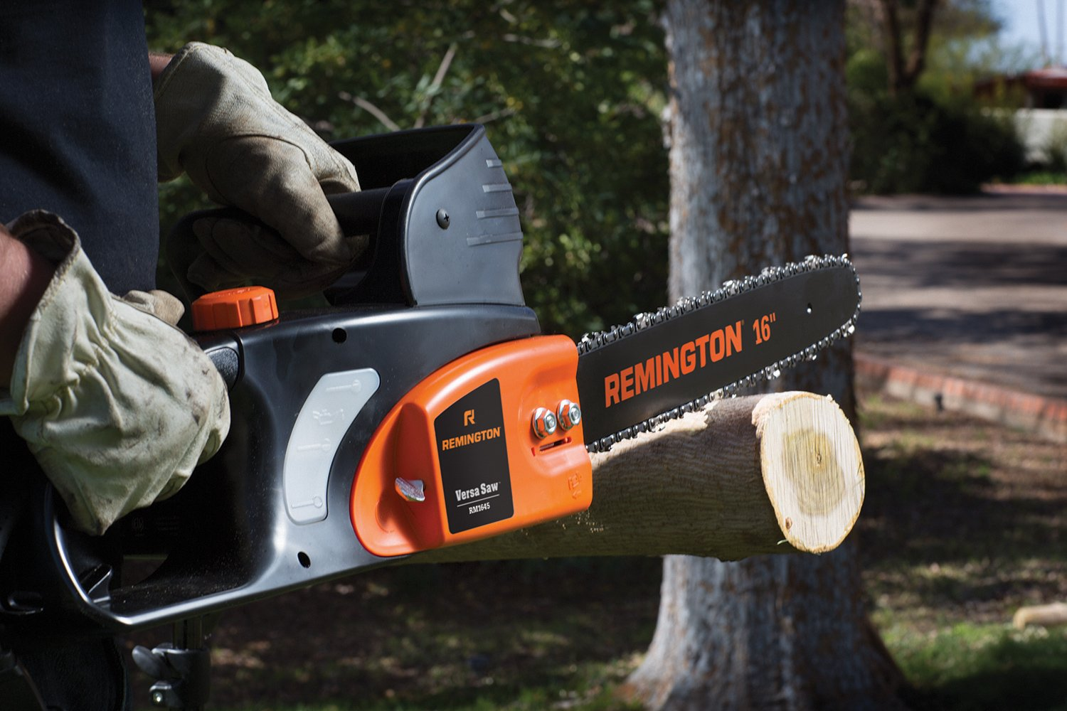 Amazon remington rm1645 versa saw 12 amp 16 inch electric amazon remington rm1645 versa saw 12 amp 16 inch electric chainsaw power chain saws garden outdoor greentooth Gallery