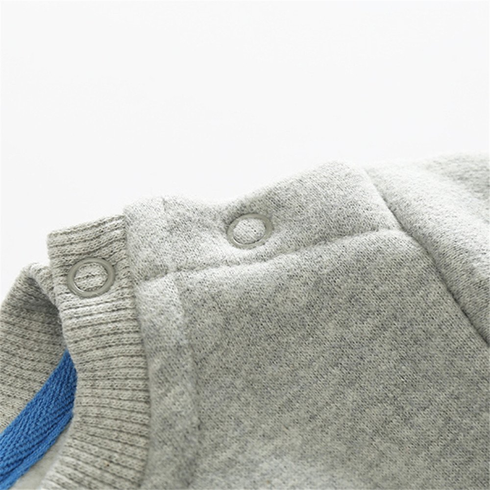 Top and Top Toddler Baby Boys Crewneck T Shirt Pullovers Fleece Sweatshirt Tops Blouse Cartoon Long Sleeve for 1-5T Kids