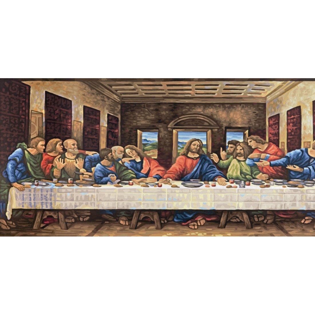Schipper Das letzte Abendmahl nach Leonardo da Vinci Malen nach ...