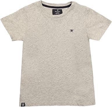 Hackett - Camiseta de manga corta para niño Gris gris 7-8 ...