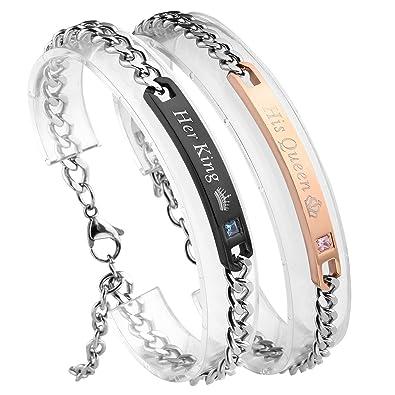 Pack of 3 Paialco Rhodochrosite Gemstone Stretch Beaded Bracelet
