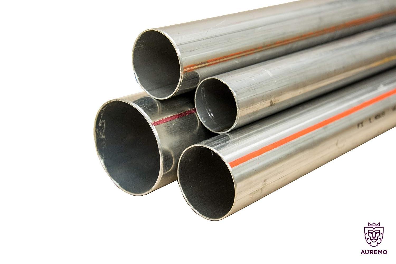 Tubo de acero inoxidable barandilla 1.4509 Tubo redondo VA ...