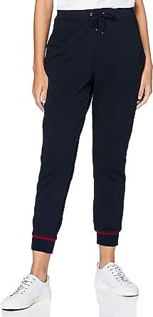 Tommy Hilfiger Regular Varsity Pant Pantalones para Mujer