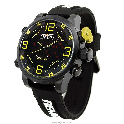 Aviador AV-1166 Osprey Hombre Quarzo Cuarzo Japonés Reloj: Amazon.es: Relojes