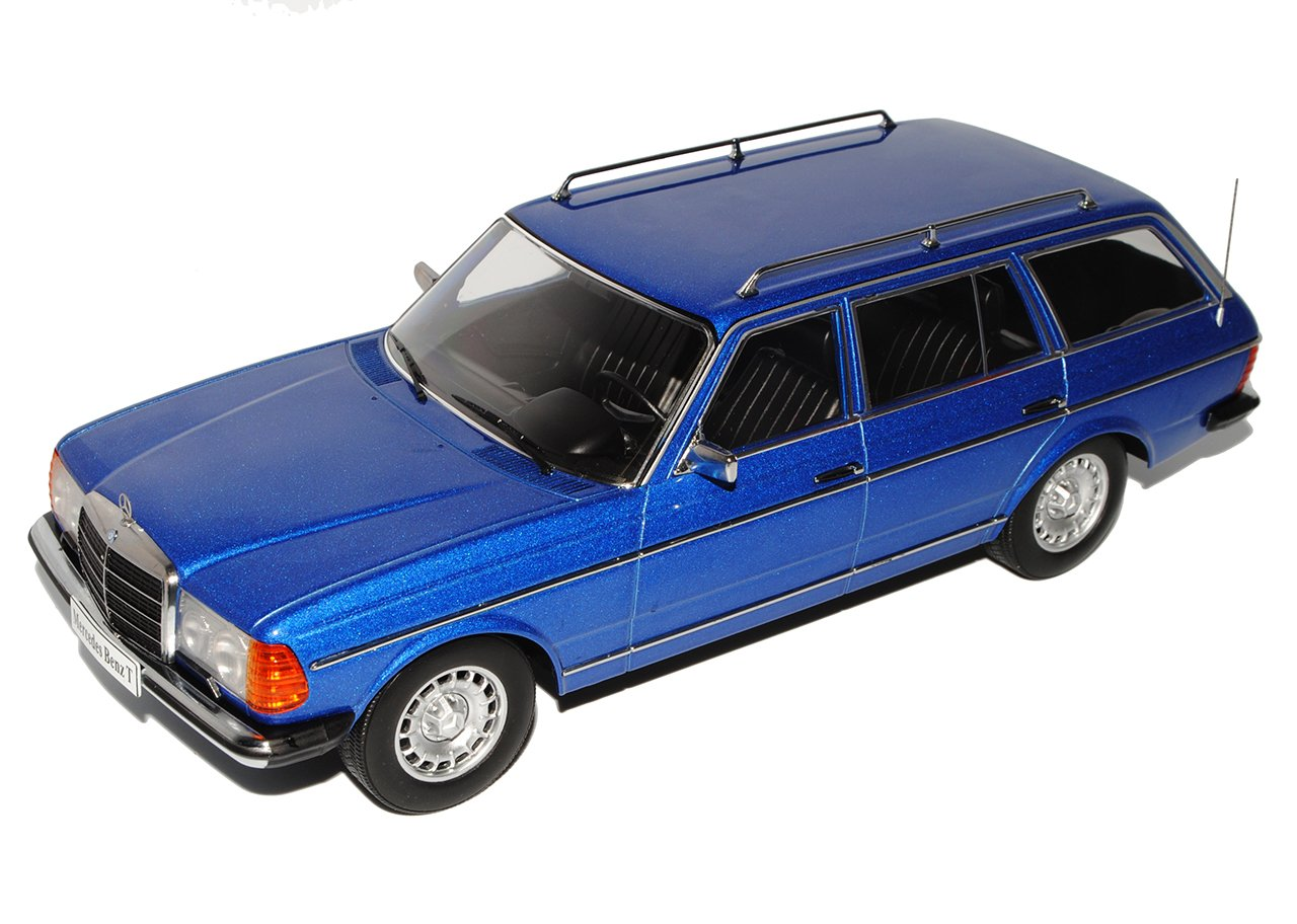 Alles-meine.de Alles-meine.de Alles-meine.de GmbH Mercedes-Benz E-Klasse W123 250T T-Modell Blau 1975-1986 1/18 KK-Scale Modell Auto aac19c
