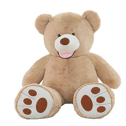 Vercart - Oso de peluche grande, regalo de cumpleaños para adultos y niños: Amazon.es: Juguetes y juegos