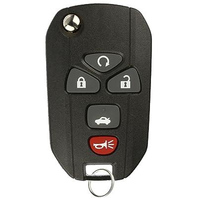 KeylessOption Keyless Entry Flip Key Car Remote Fob Ignition key For 15912860 Impala Monte Carlo Lucerne DTS: Automotive