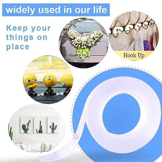 Amazon.com: YUNZI - Cinta adhesiva lavable, reutilizable ...