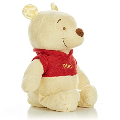 Disney Baby Winnie The Pooh Stuffed Animal Plush Toy Floppy Favorite, 16 inches: Baby