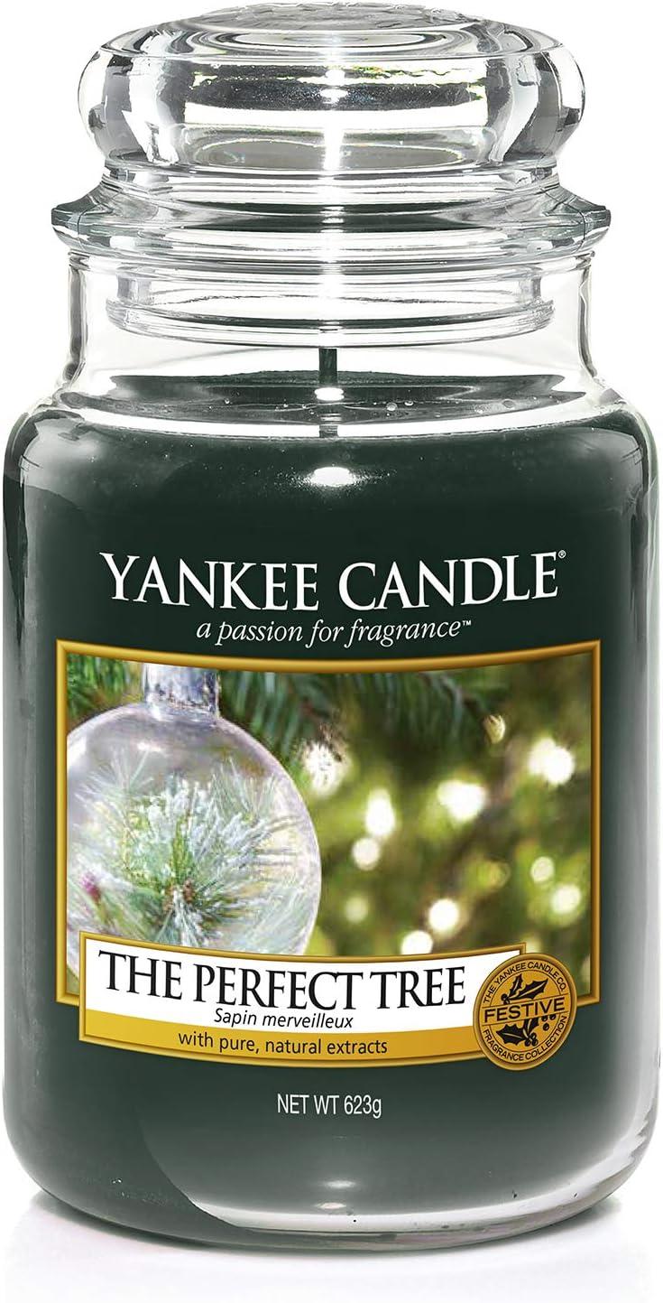 Geschenkdose Yankee candle Moyenne housewarmer 411 g hiver sapin bougie parfumée
