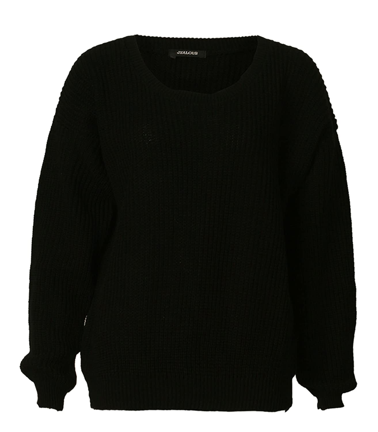 Forever Women's Long Sleeves Baggy Style Oversize Sweater: Amazon ...