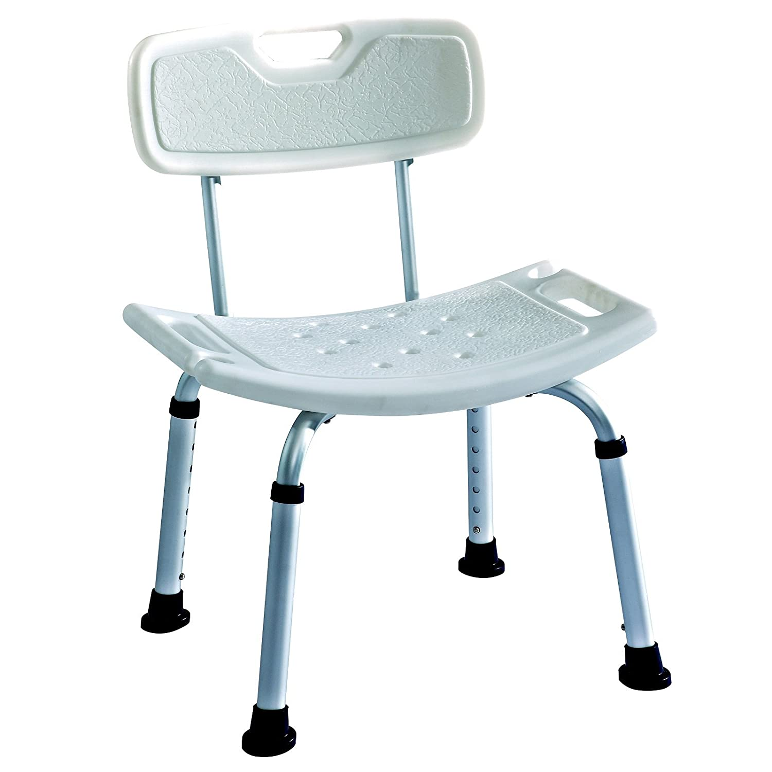 Amazon.com: Elite Care ECSS02 Bath bench shower seat with back ...
