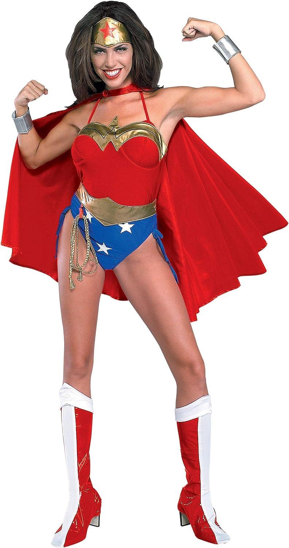 Generique Disfraz de Mujer Maravilla para Mujer M: Amazon.es ...