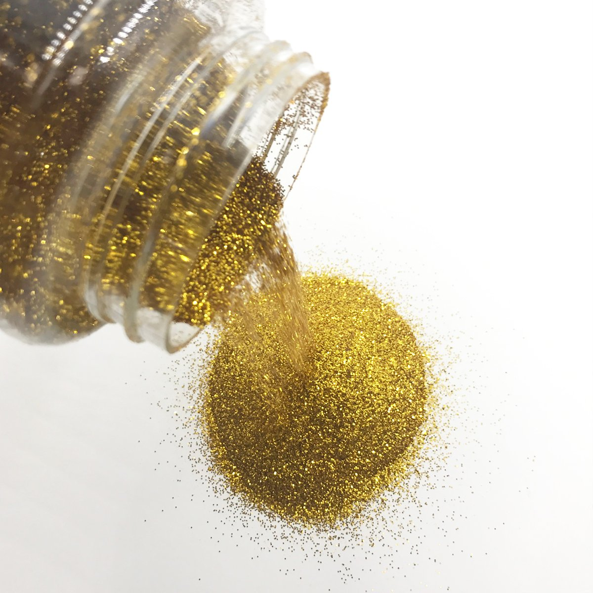 Craft and Party, 1 pound bottled Craft Glitter for Craft and Decoration (Gold) Craft & Party 4336855393