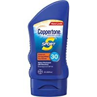 Coppertone Sport Broad Spectrum SPF 30 Sunscreen Lotion (3-Fluid-Ounce)