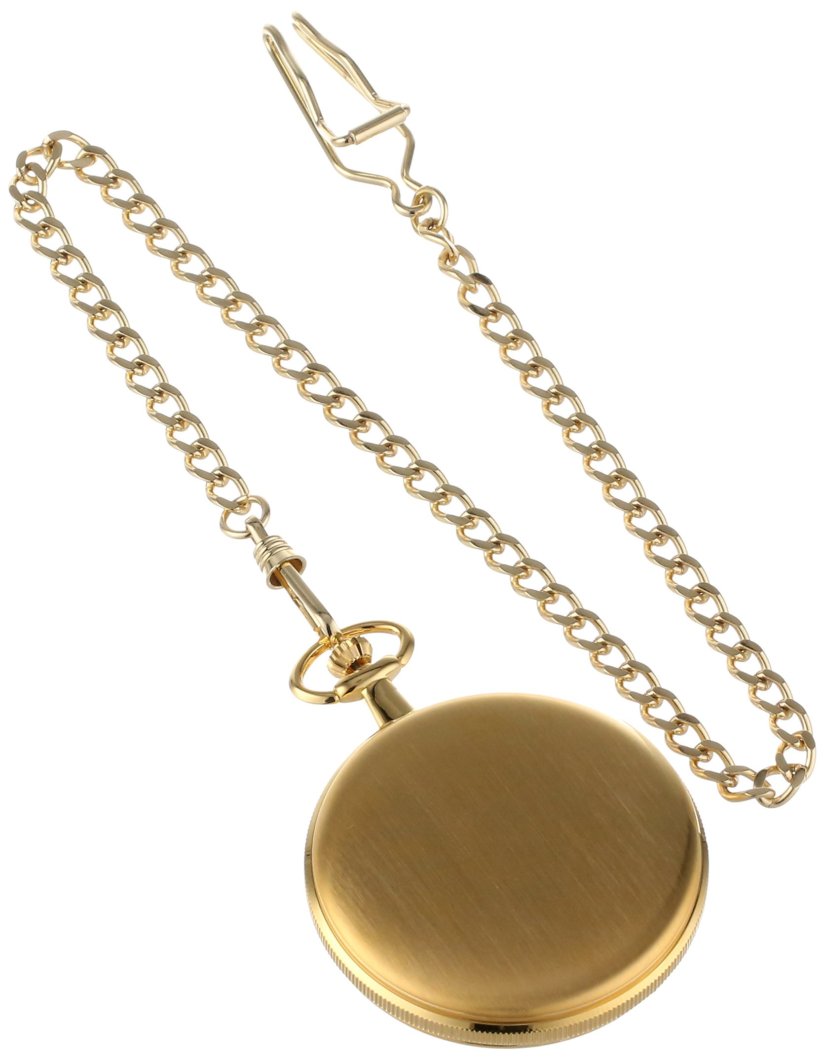 Charles-Hubert, Paris 3939 Classic Collection Gold Plated Brass Pocket Watch by Charles-Hubert, Paris (Image #2)