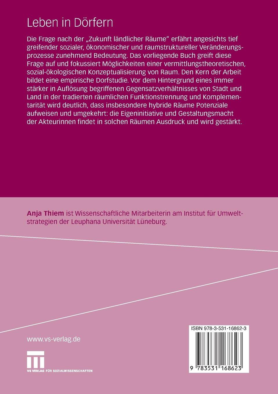 Leben in Dörfern: Die Bedeutungen öffentlicher Räume für Frauen im ländlichen Raum (German Edition)