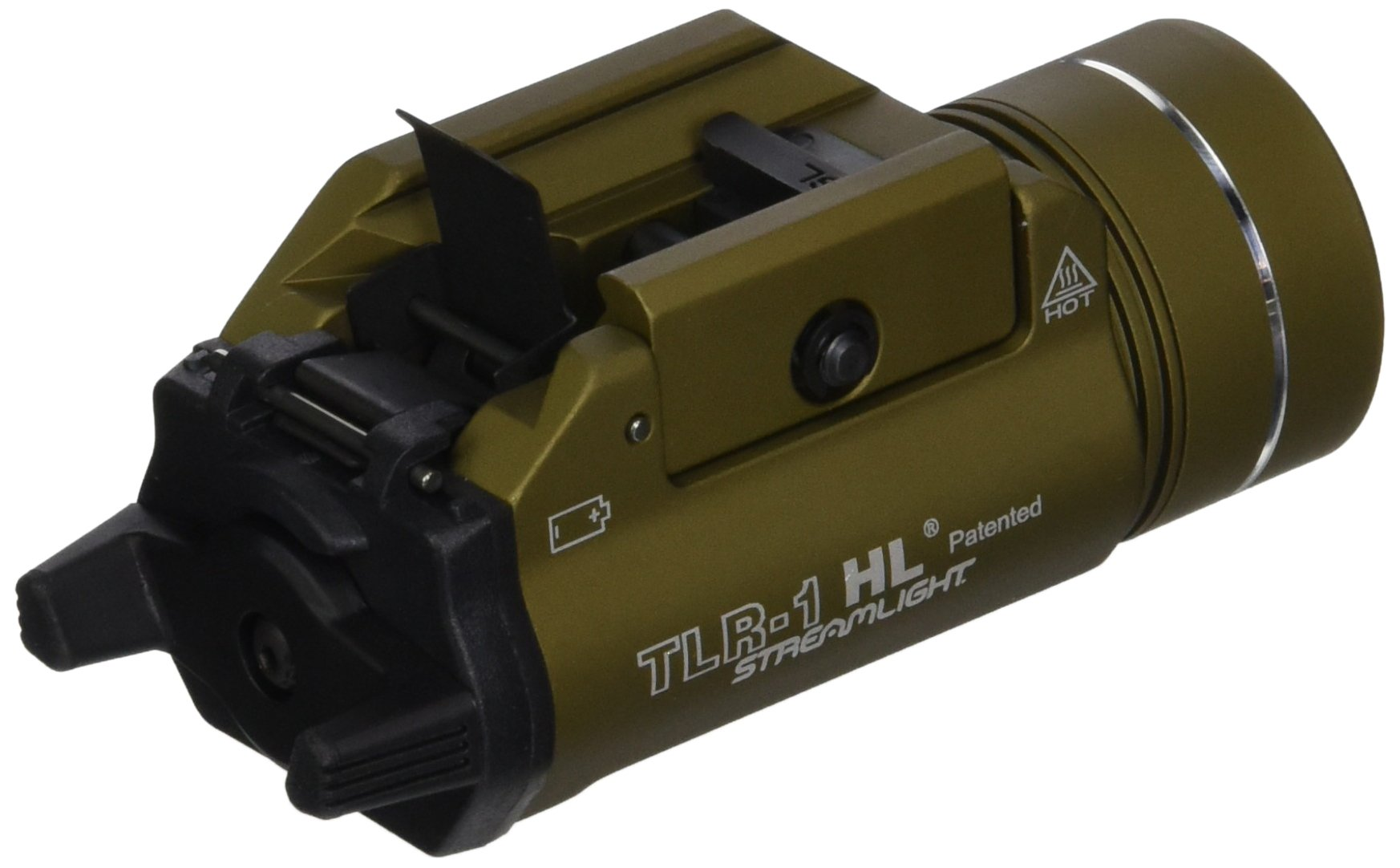 Streamlight 69266 TLR-1-HL High Lumen Rail-Mounted Tactical Light, Flat Dark Earth by Streamlight (Image #2)