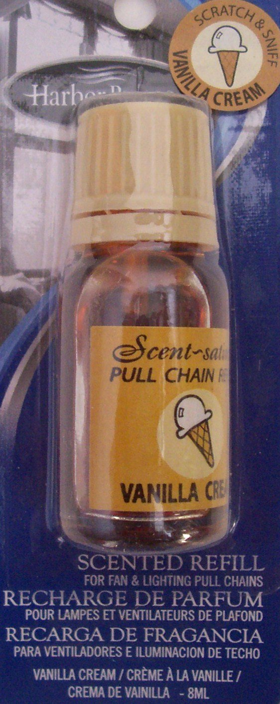 Vanill Cream Scented Refill for Fan & Lighting Pull Chains