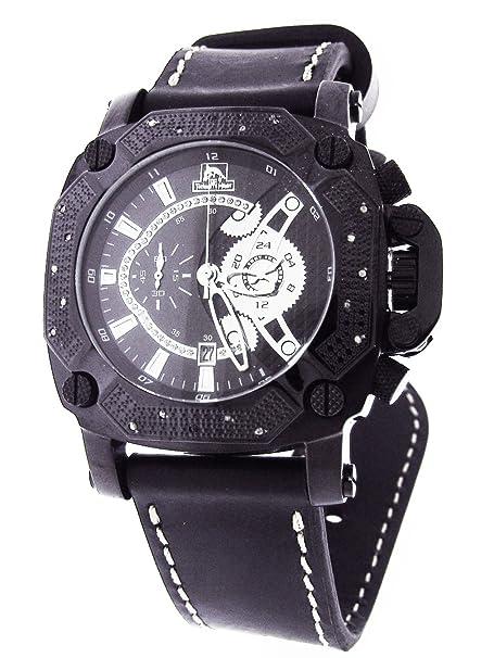Amazon.com: Techno Master Watches Mens Diamond Watch 0.45ct. - TM-2134E2: Watches