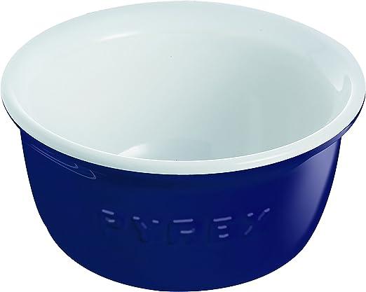 Pyrex Impressions Blue White - Set de 2 flaneros, 9 cm, color azul ...