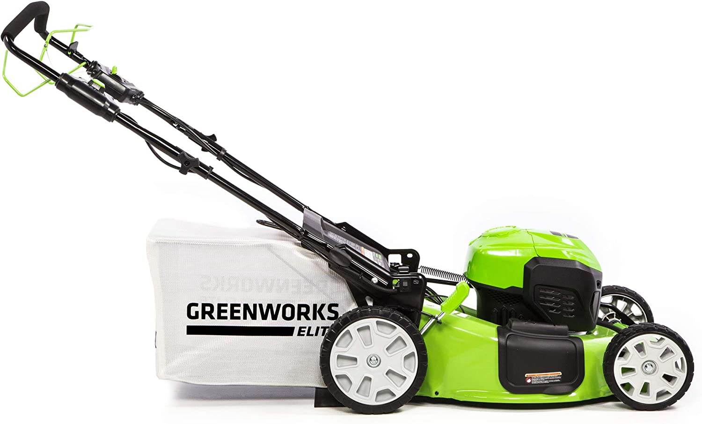 Greenworks Cortacésped autopropulsado sin escobillas de 21 ...