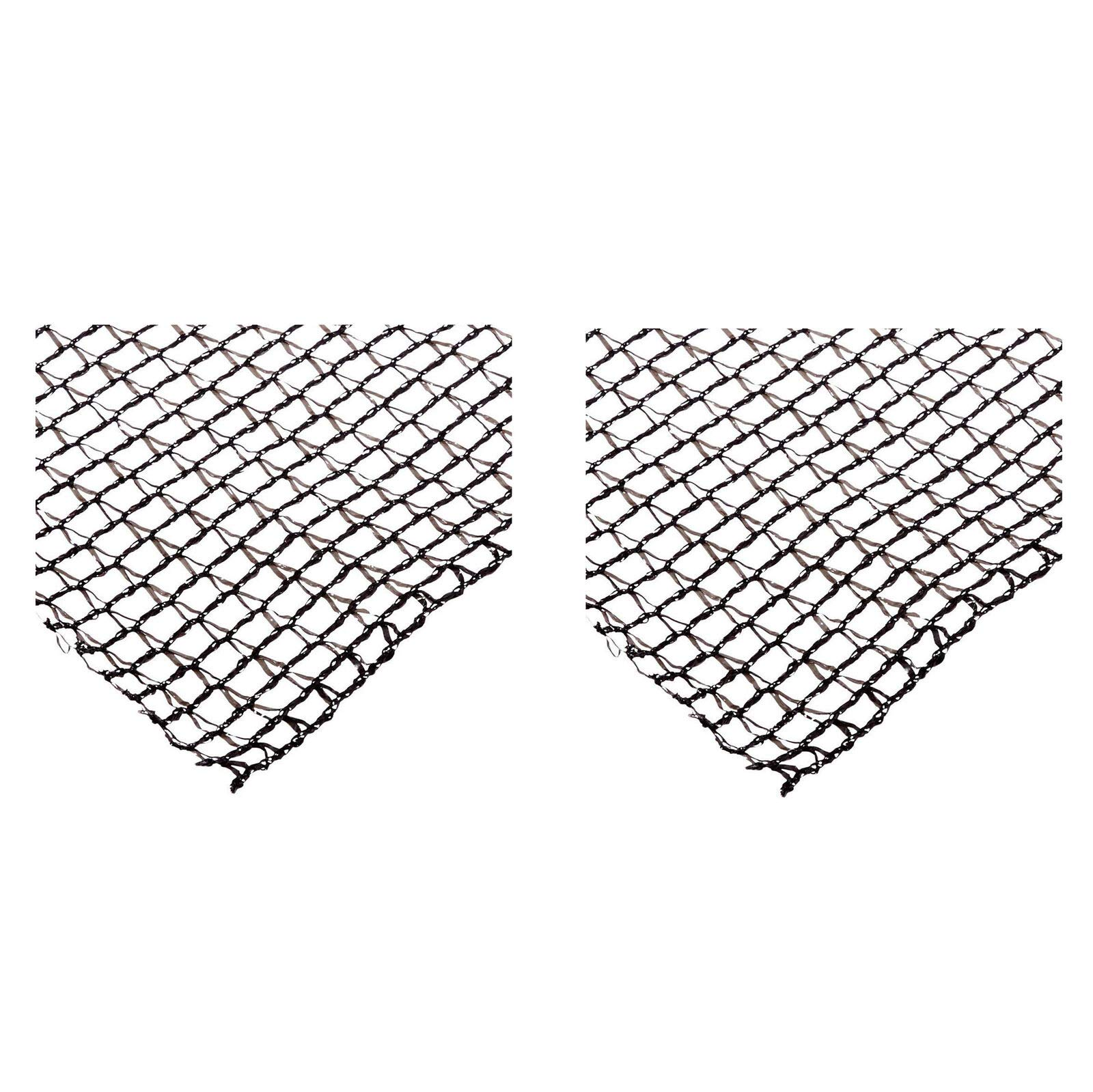 MRT SUPPLY Deluxe 12 x 20 Foot Heavy Duty Backyard Fish Pond Netting Cover (2 Pack) with Ebook