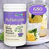 NuNaturals White Stevia Powder All Purpose
