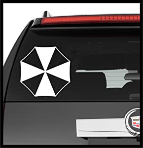 A Design World Decals for Cars Resident Evil Umbrella Corporation Logo Symbol v2 Comics - Vinyl Decal Truck Car Laptop Wall Sticker