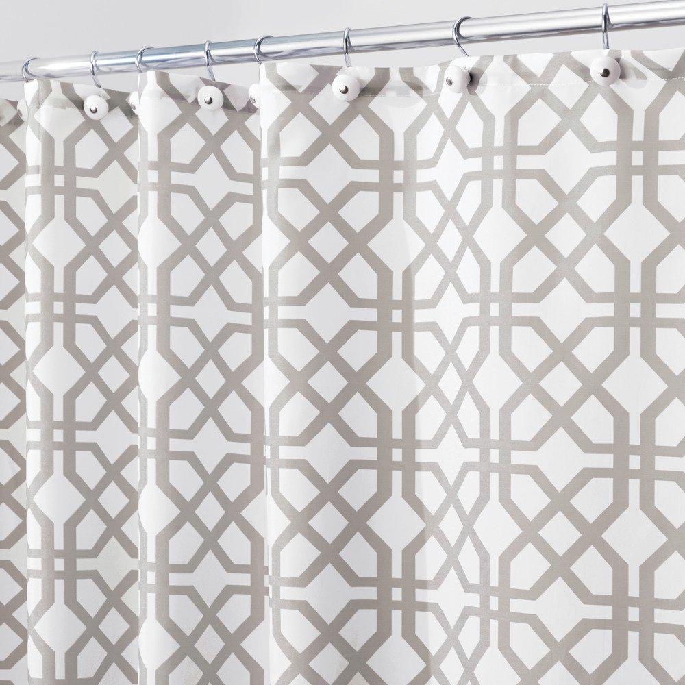 Amazon.com: InterDesign Trellis Fabric Shower Curtain - 72\