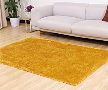 Quibine Peluche Tapis Rectangle Shaggy Déco Maison Chambre Salon ...