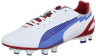 PUMA EvoSpeed 3 FG Mens soccer Boots Cleats - White - SIZE US 7 46630229687d