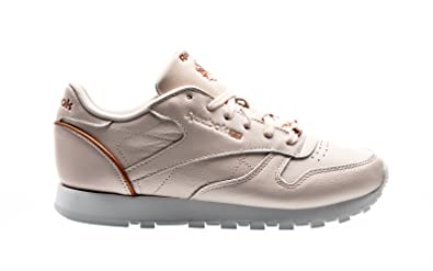 free shipping 48420 4d0b1 Reebok Classic Leather CL LTHR HW, Pale pink-Rose Gold-White ...