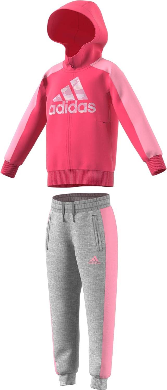 Refrigerar Comunista artículo  adidas LK GFX HDY Set, Tuta Unisex Bambini, Real Pink s18/Medium Grey  Heather/Light Pink, 1824M: Amazon.it: Sport e tempo libero