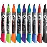 Quartet Dry Erase Markers, EnduraGlide, Chisel Tip, 12 Pack (5001-20MA)