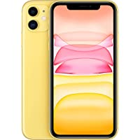 Apple iPhone 11 without FaceTime - 128GB, 4G LTE, Yellow