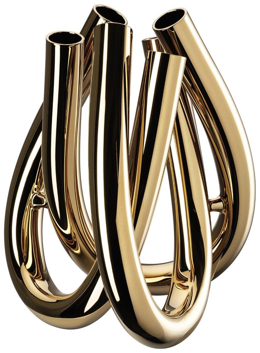 Rosenthal 69132-321496-47022 Triu Gold - Blumenvase - Vase - Höhe 22 cm