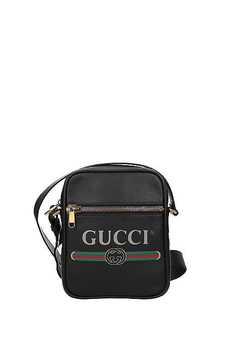 a basso prezzo 7bf6e 9156a Gucci Borse a Tracolla Uomo - Pelle (5235910QRAT): Amazon.it ...