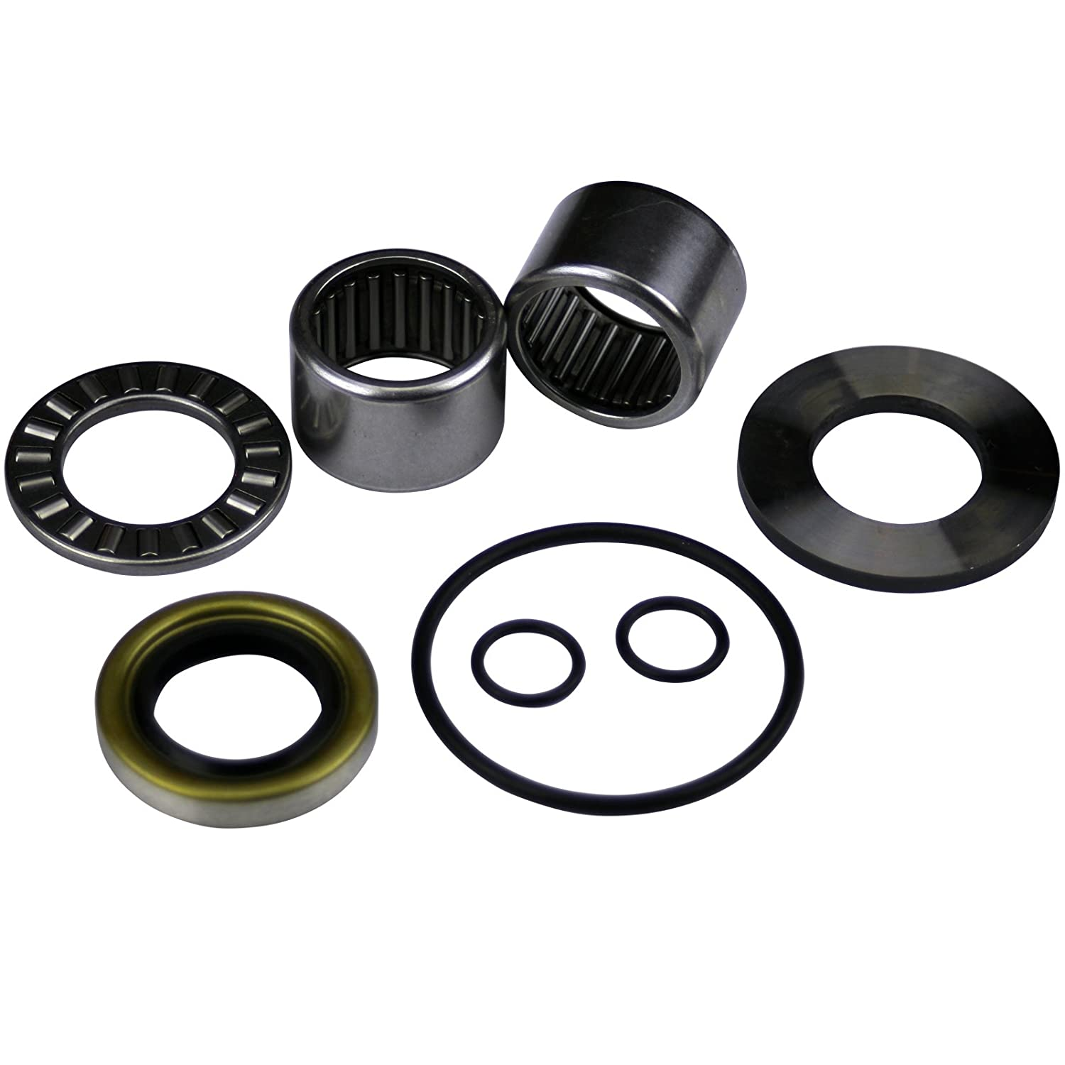Se Ad For Exact Model /& Year Fit Fits MANY HX GTX//RFI//LTD Deluxe SeaDoo Jet Pump Rebuild Kit Wear Ring Seal Shaft