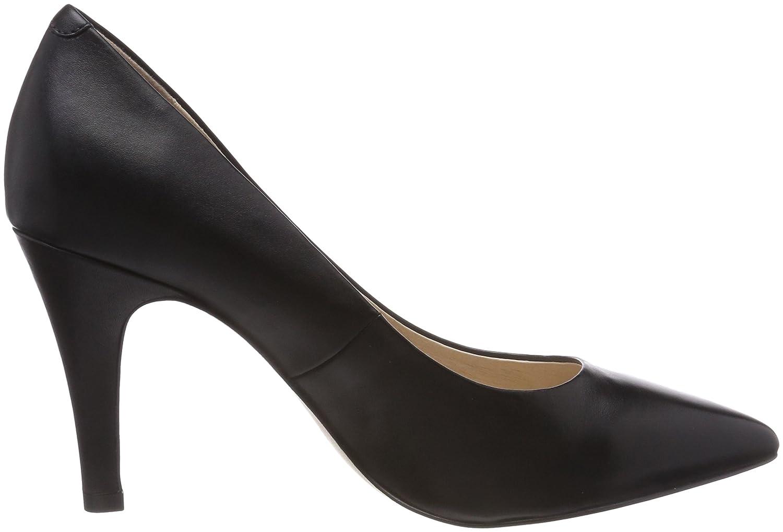 22416, Zapatos de Tacón Para Mujer, Negro (Black Reptile 10), 39 EU Caprice