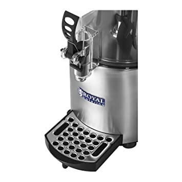 Royal Catering - RCSS-3 - Dispensador de chocolate - 3 Litros - 1200 watt - Envío Gratuito: Amazon.es: Hogar