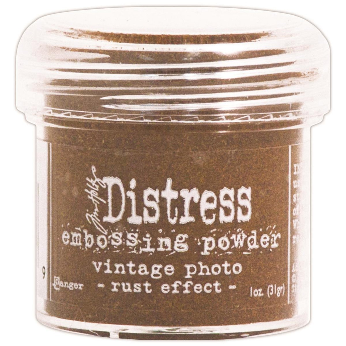 Ranger TIM-22862 Tim Holtz Distress Embossing Powder, Brushed Corduroy, 1-Ounce Notions - In Network